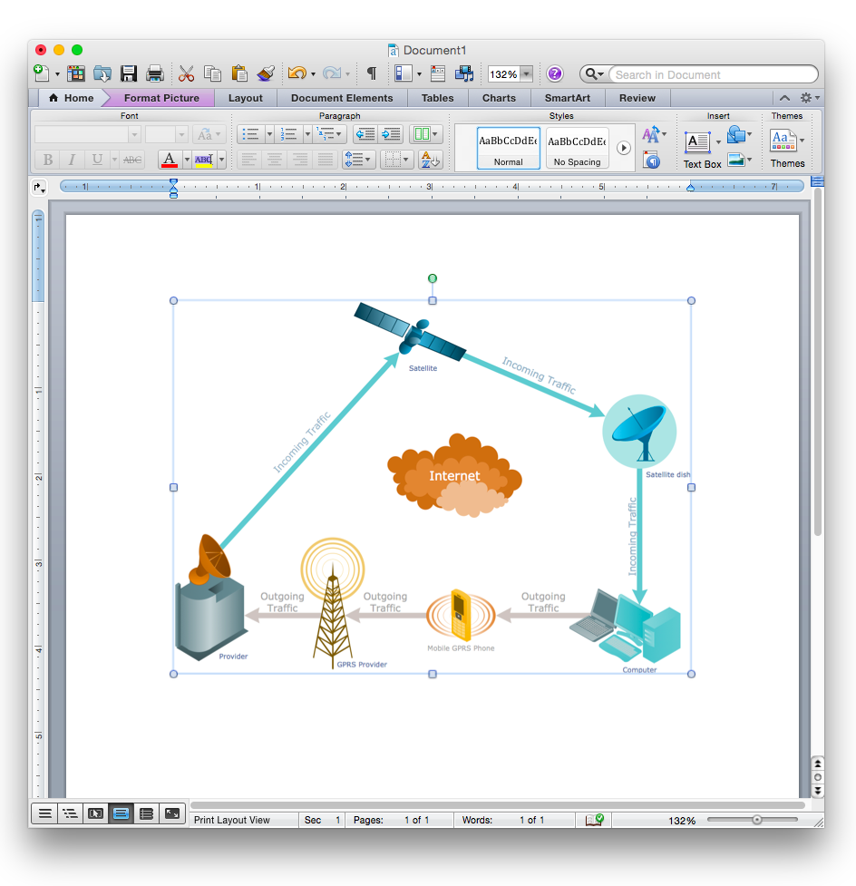 The Best 22 Way To Draw Network Diagram In Word Samples Visio