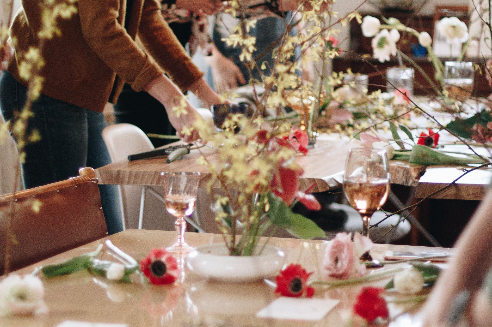 Diy flower parties learn howto arrange flowers with your