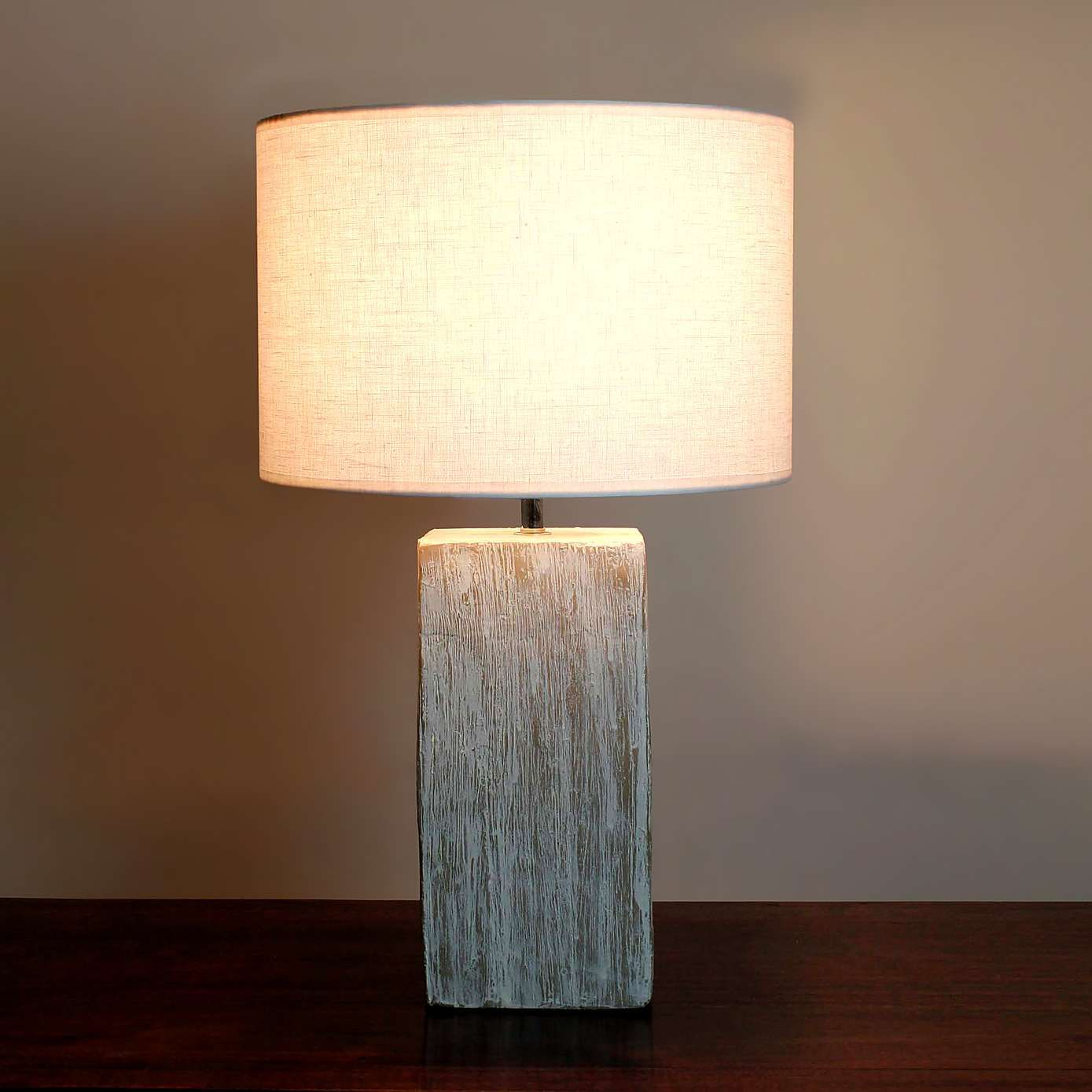 Roxy Distressed Wood Table Lamp Distressed Wood Table Table Lamp Wood Table Lamp