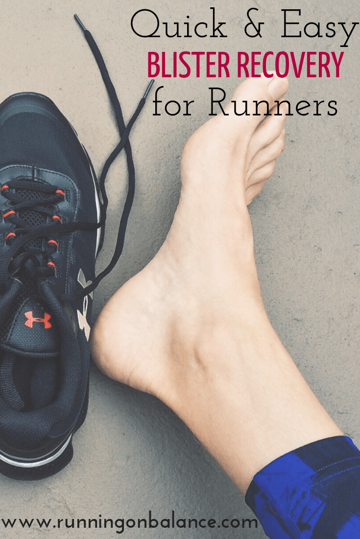 Quick and Easy Blister Recovery for Runners  #running #runners #injury #blisters #footwear #exercise...