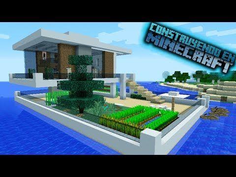 Como hacer una casa moderna de hormig n en minecraft for Como aser una casa moderna y grande en minecraft