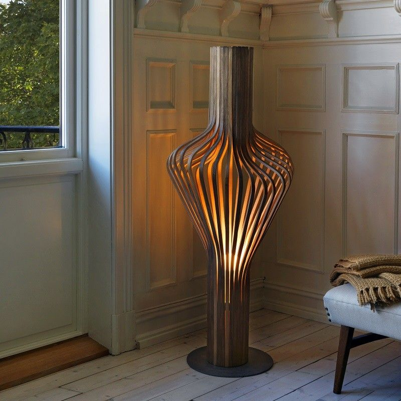 Northern Lighting Diva Floor Lamp Walnut Floor Lamp Floor Standing Lamps Floor Lamp Design