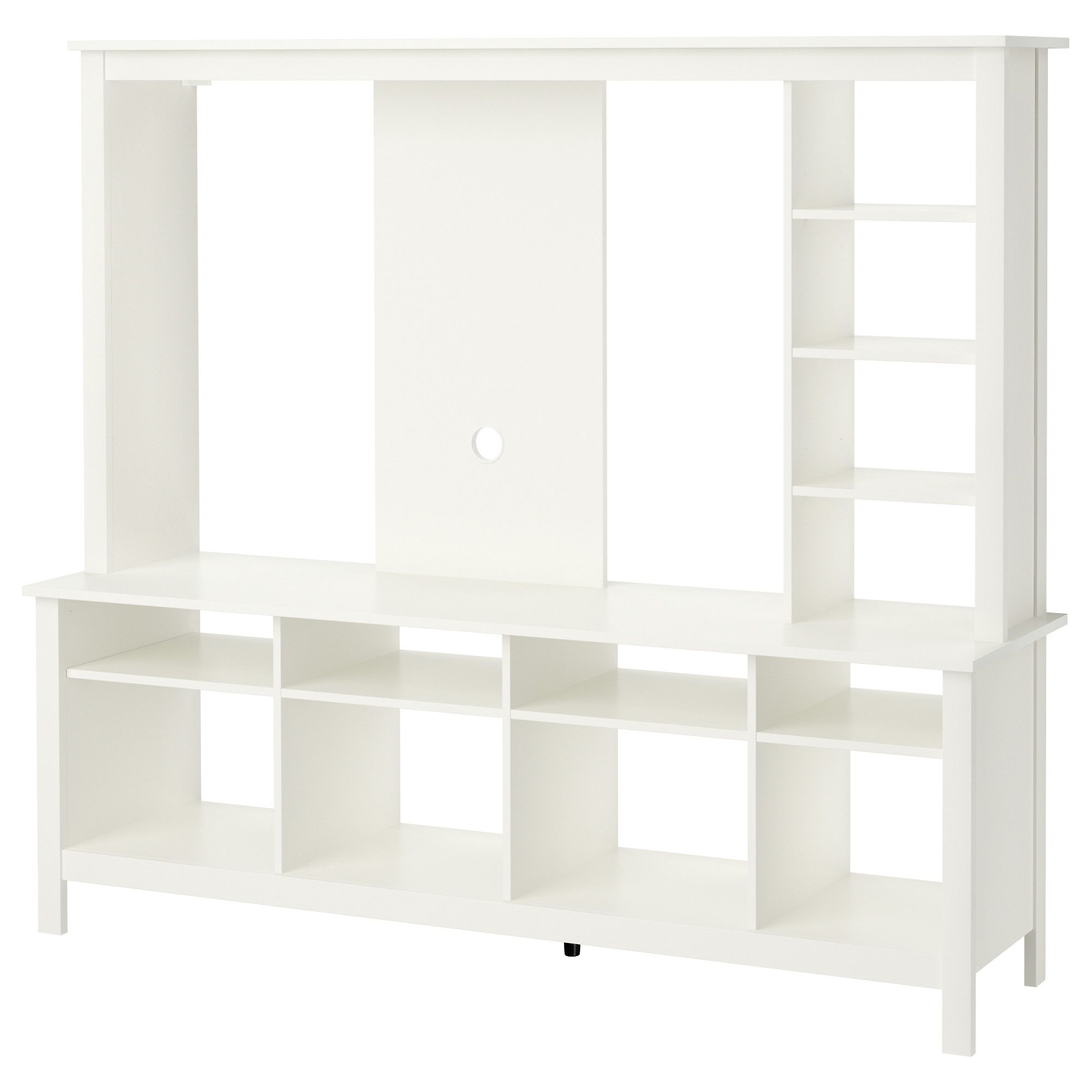 Ikea Tomnas Tv Storage Unit White You Can Integrate The Tv