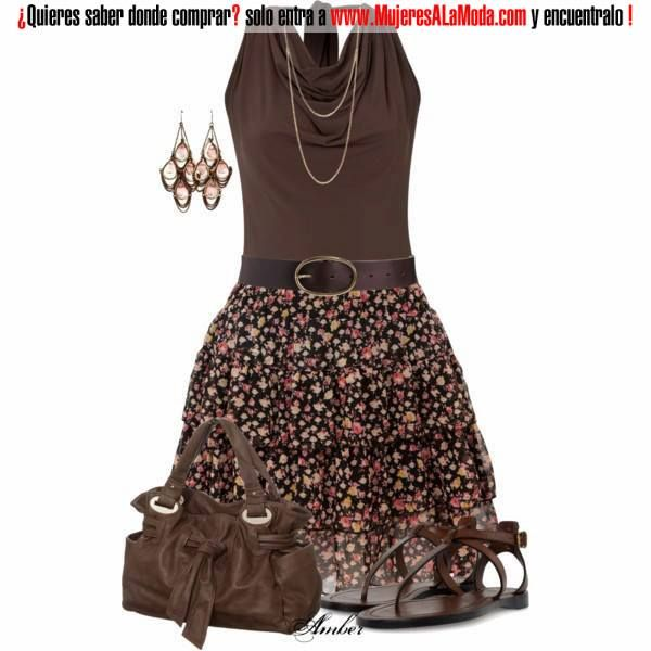 Combinaciones con marrón