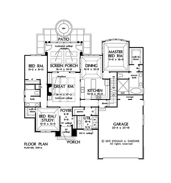 Floorplan Photo Of Home Plan 1319 The Lucerne My House Plans House Plans Floor Plans