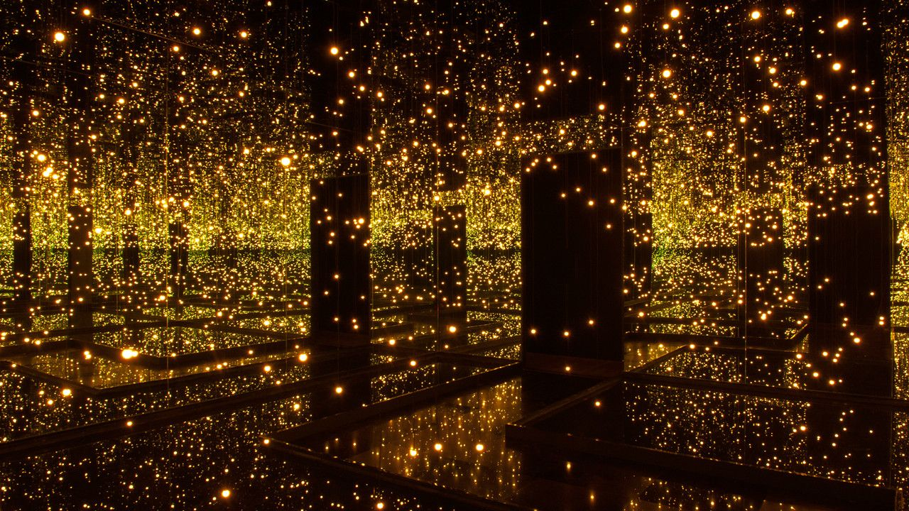 With Mirrors And LEDs, Yayoi Kusama Offers A Taste Of The Infinite ... for Led Light Installation Art  110ylc