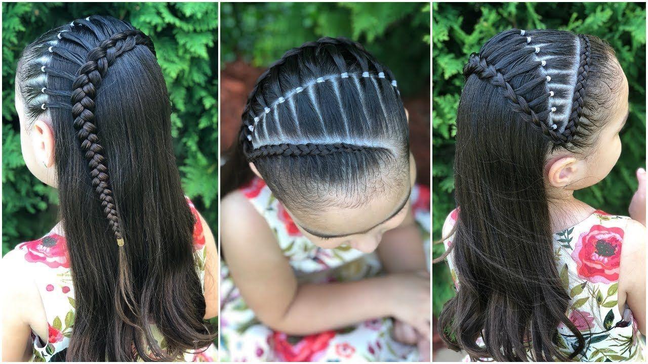 Peinado Para Ocasión Especial Trenza Puente Peinado Para