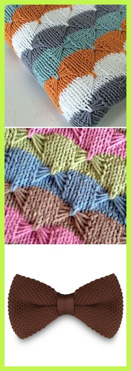 Free Knitting Pattern for Easy Treetops Baby Blanket - Striped baby blanket usin...  #Dark #Brown #Knitted #Stock #Tailor #Toki #patternknitting #cableknit #howtodoubleknitting #knittinginspiration #giantknitblanket #knittedfabric #scarfknitted #knittingideas #diyideasheadbandideas #