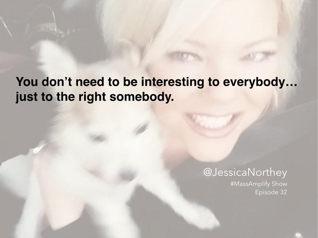 Jessica Northey on Mass Amplify Show Sneak Peak Talking #CMchat Community