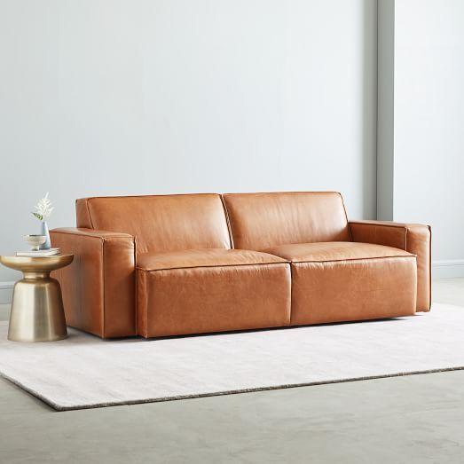 Sedona Leather Sofa 82 Ledersofa