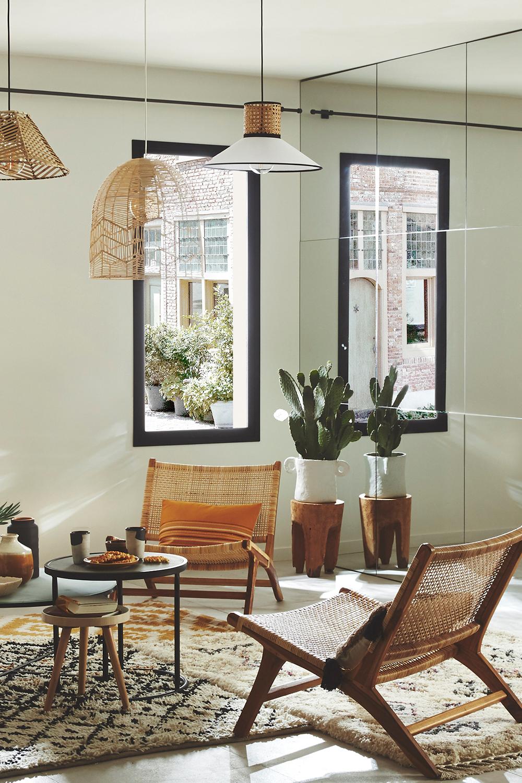 Des idées pour un salon lumineux et chaleureux !  Deco maison