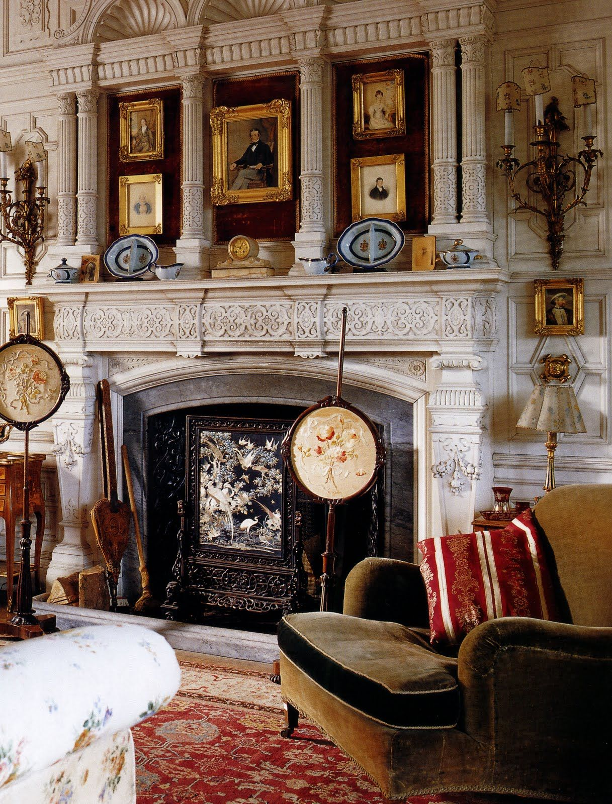 English Country Homes 1830 1900 Interior Design Art