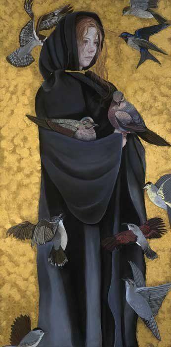 Femme Freedom By Ab Word Merglenn Right Panel Of Triptych Femme