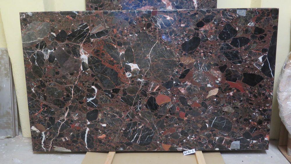 Tavoli Di Marmo Intarsiati : Piano per tavolo di marmo venato rettangolare 140x80 cm lastra di