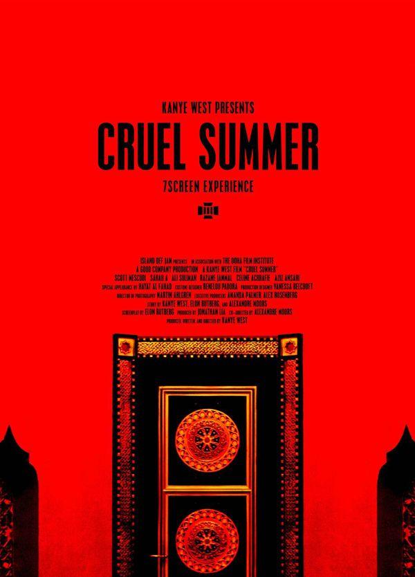Kanye West Cruel Summer Film And Album Kanye At Cannes Kanye West Kanye Cruel