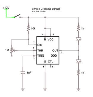 on railroad signal light wiring diagram