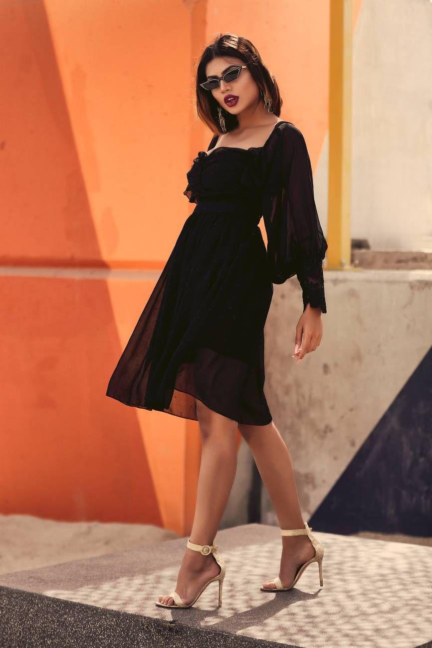 Har өngijn Daashinzyg Herhen өmsөh Ve Dresses Black Dress Fashion [ 1300 x 866 Pixel ]