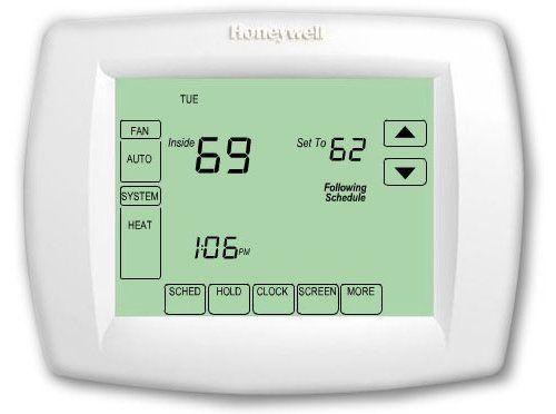 honeywell th8321u1006 visionpro universal programmable thermostat rh pinterest com honeywell th8321r1001 visionpro 8000 thermostat manual Honeywell VisionPRO 8000 Manual