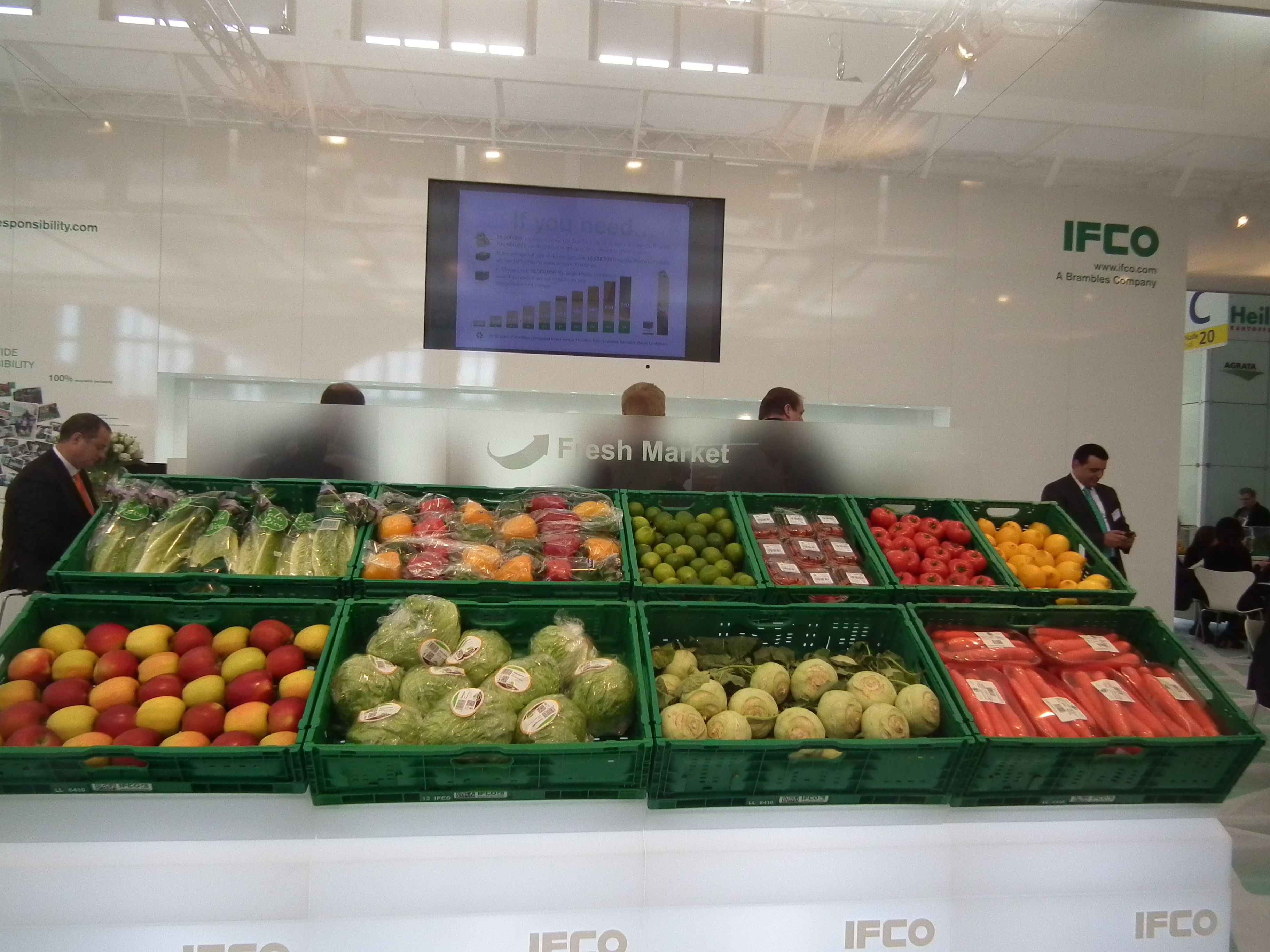 Food Exhibition at the Fruit Logistica