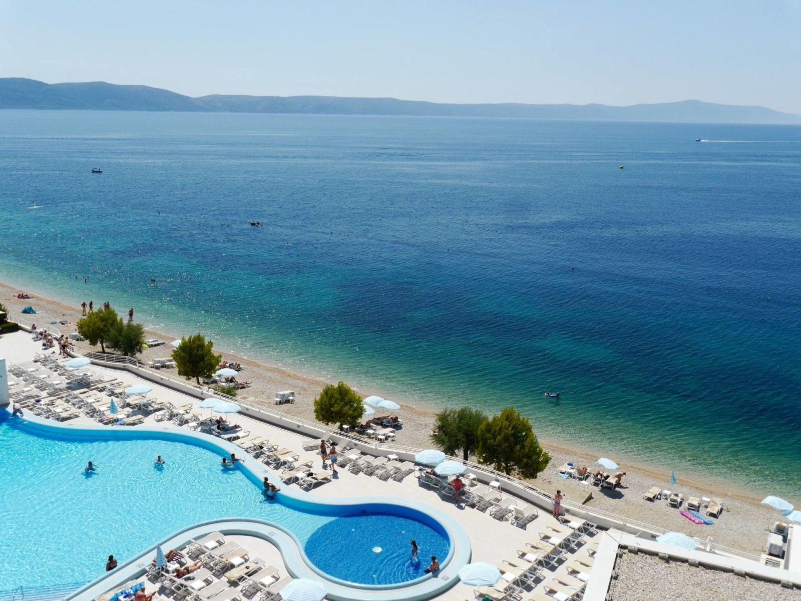 Sensimar Adriatic Beach Resort Igrane Croatia Pool