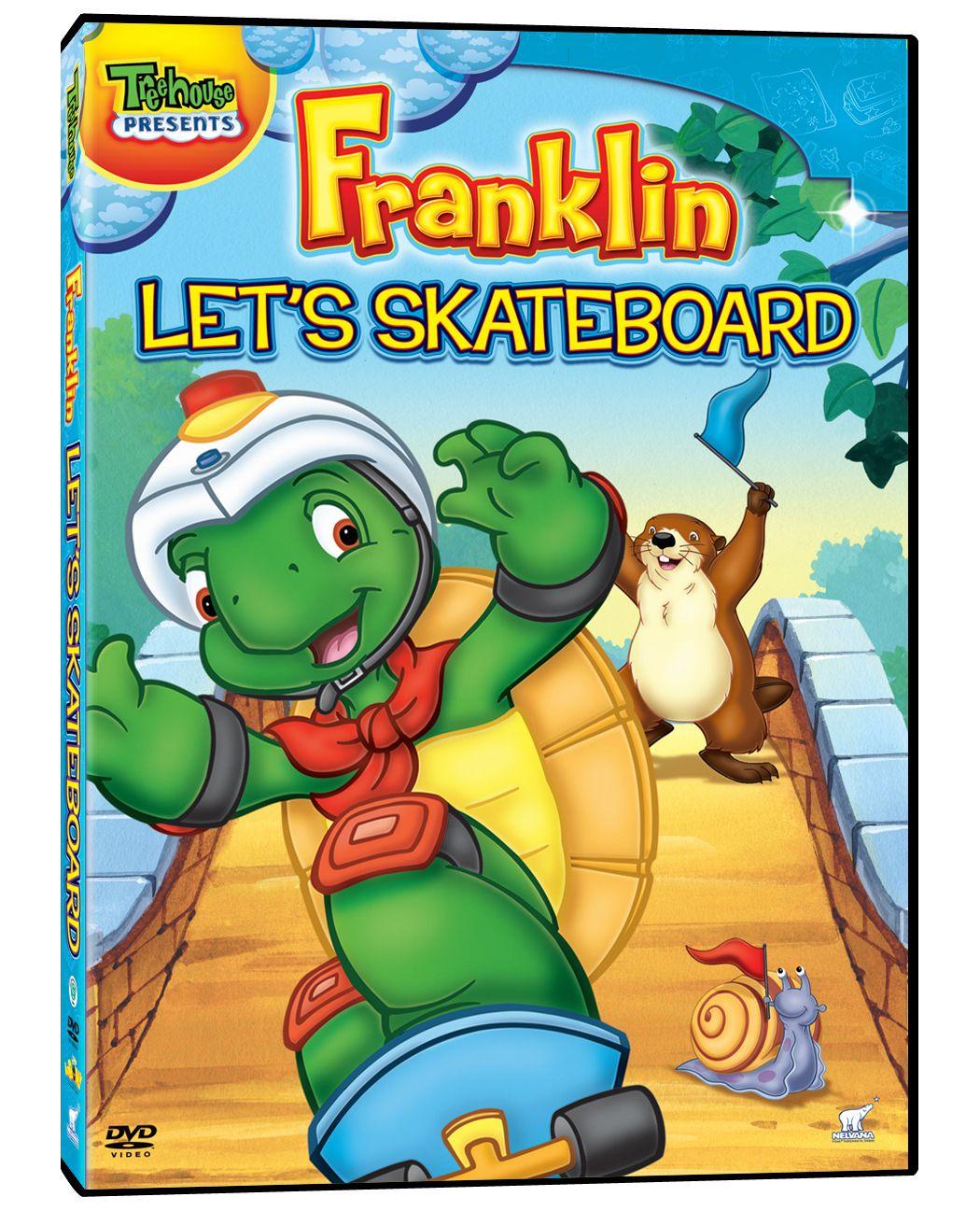 Uncategorized Cartoon Franklin franklin lets skateboard kids summer dvds pinterest skateboard