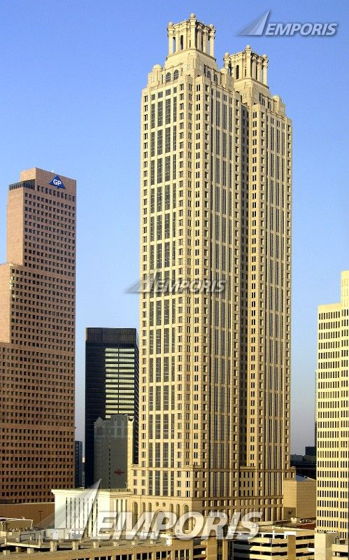 191 Peachtree Tower Atlanta Ga 770ft Famous Buildings Tower Design Home Insurance Building