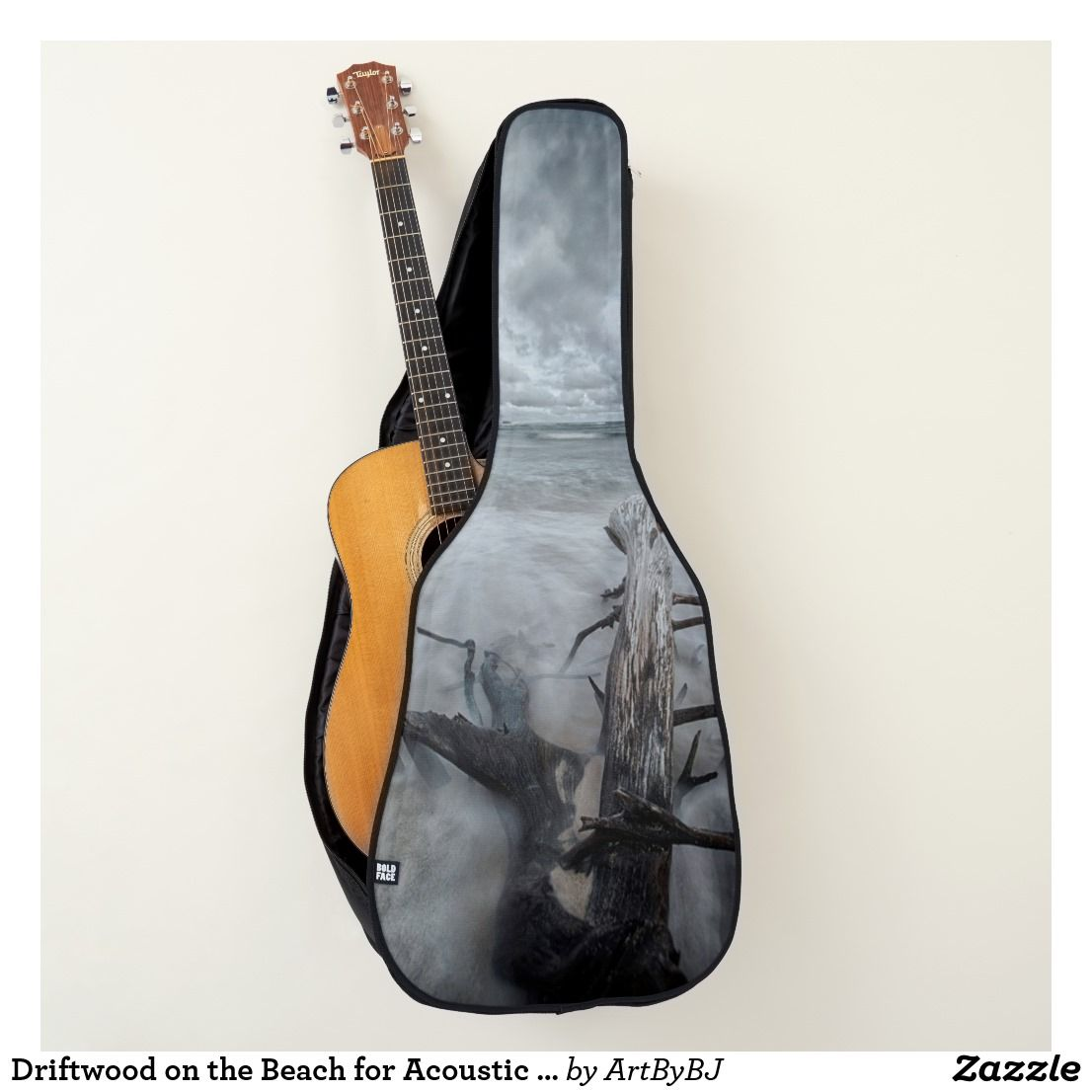 Driftwood On The Beach For Acoustic Or Electric Guitar Case Zazzle Com Electric Guitar Case Guitar Case Guitar