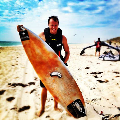 Clocked 57km today training for the Lancelin Ocean Classic a 26km Open Ocean Race friday in Wild Western Australia
