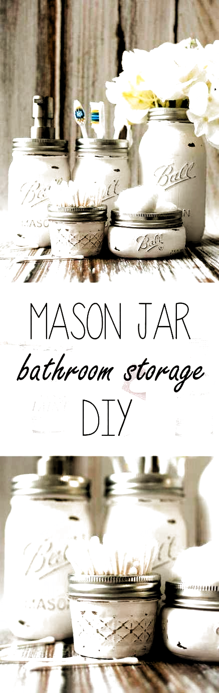 Photo of 49+  ideas diy bathroom themes ideas mason jars,  #Bathroom #DIY #diybathroomdec…