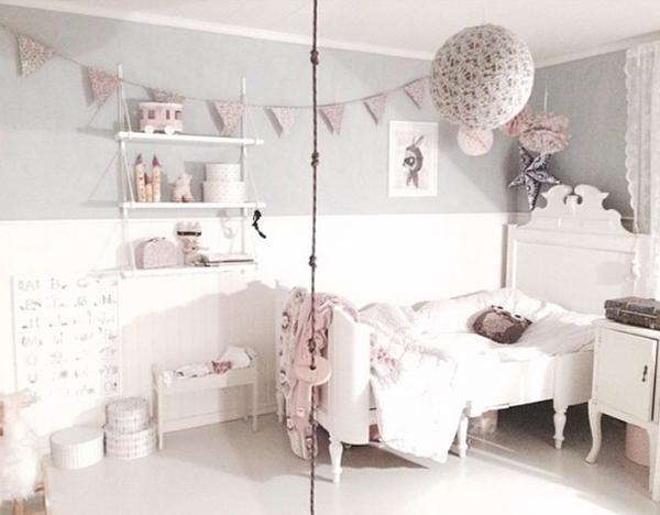 Ideas deco habitaciones infantiles de estilo n rdico para - Deco estilo nordico ...