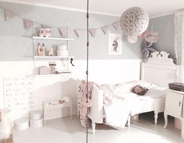 Ideas deco habitaciones infantiles de estilo nÓrdico para niÑas