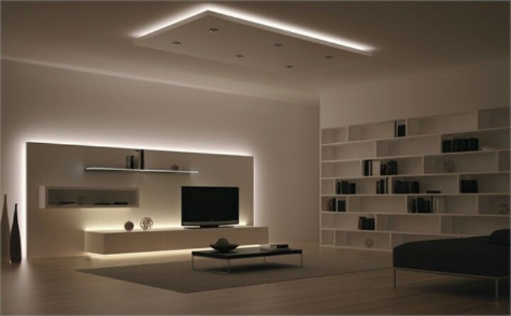 Indirect LED lighting Light design Pinterest Indirectas - Techos Interiores Con Luces