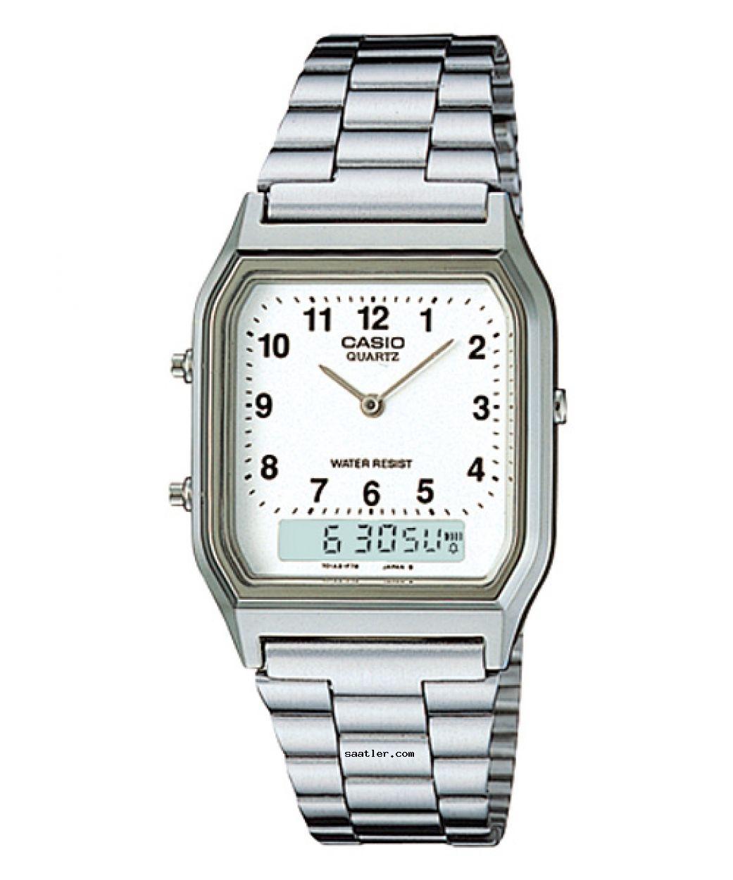 Casio Aq 230a 7bmq Kol Saati Erkek Kol Saatleri Klasik Saatler