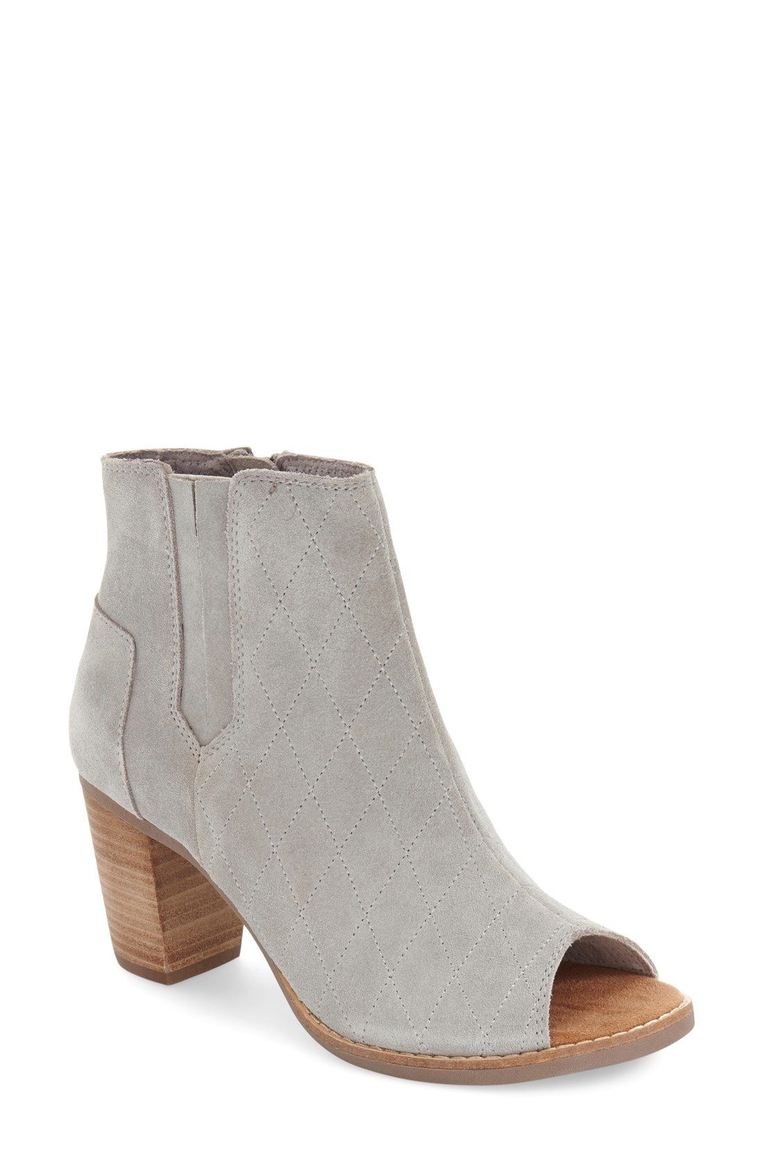 9540ab933c8 TOMS  Majorca  Peep Toe Bootie (Women) available at  Nordstrom