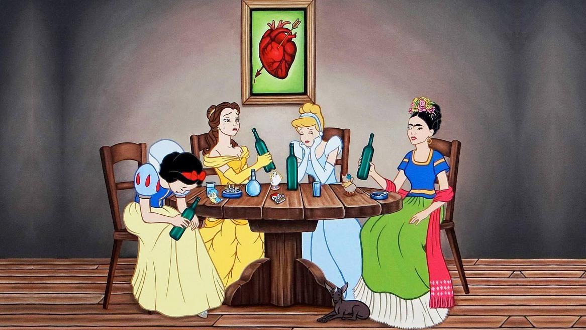 Фото днем, картинки принцессы дисней приколы