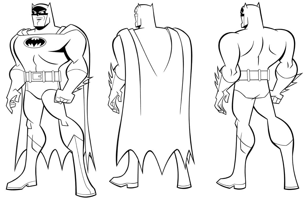 Batman Studies By James Tucker For The Batman The Brave And The