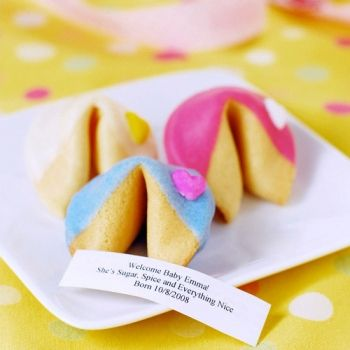 Fortune cookies for a New Year's party...see what the New Year will bring