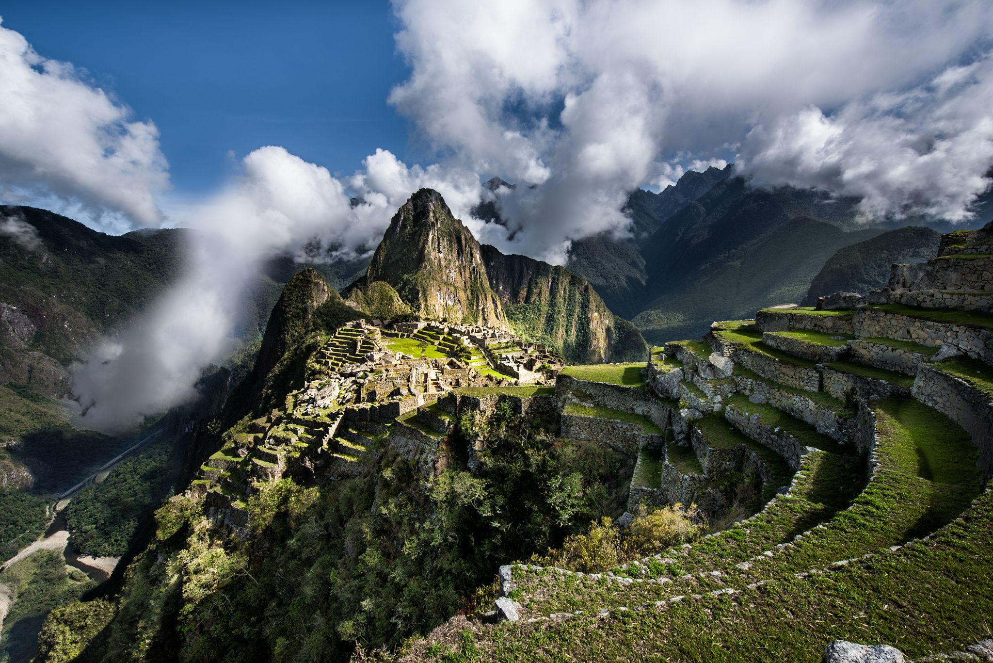 Pikchu Peak - null Machu Picchu, Urubamba (Perú) Photography by Lou Lu