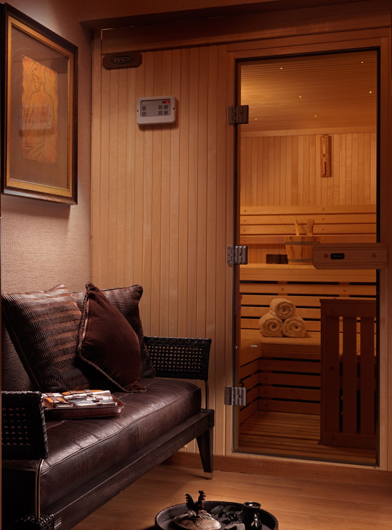 Divani Caravel Gym Private Sauna In The Presidential Suite No701 Divani Caravel