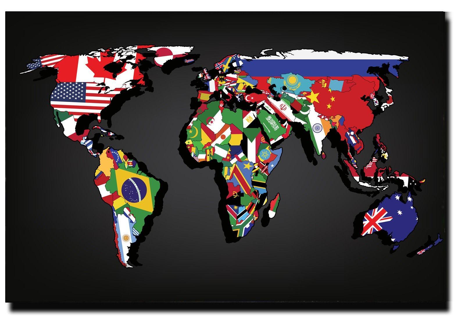 Map flag interrail pinterest flags world map flags by strejman via shutterstock gumiabroncs Images