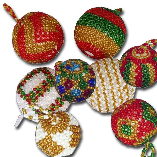 real african christmas tree balls