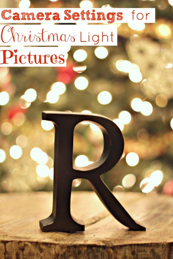 Getting Blurred Christmas Light Pictures {Camera Settings} - just - Luces De Navidad