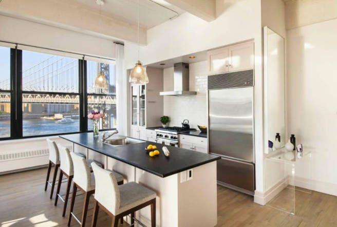 Modern Kitchen Design  Anne Hathaway's Brooklyn Home  Modern Prepossessing Brooklyn Kitchen Design 2018