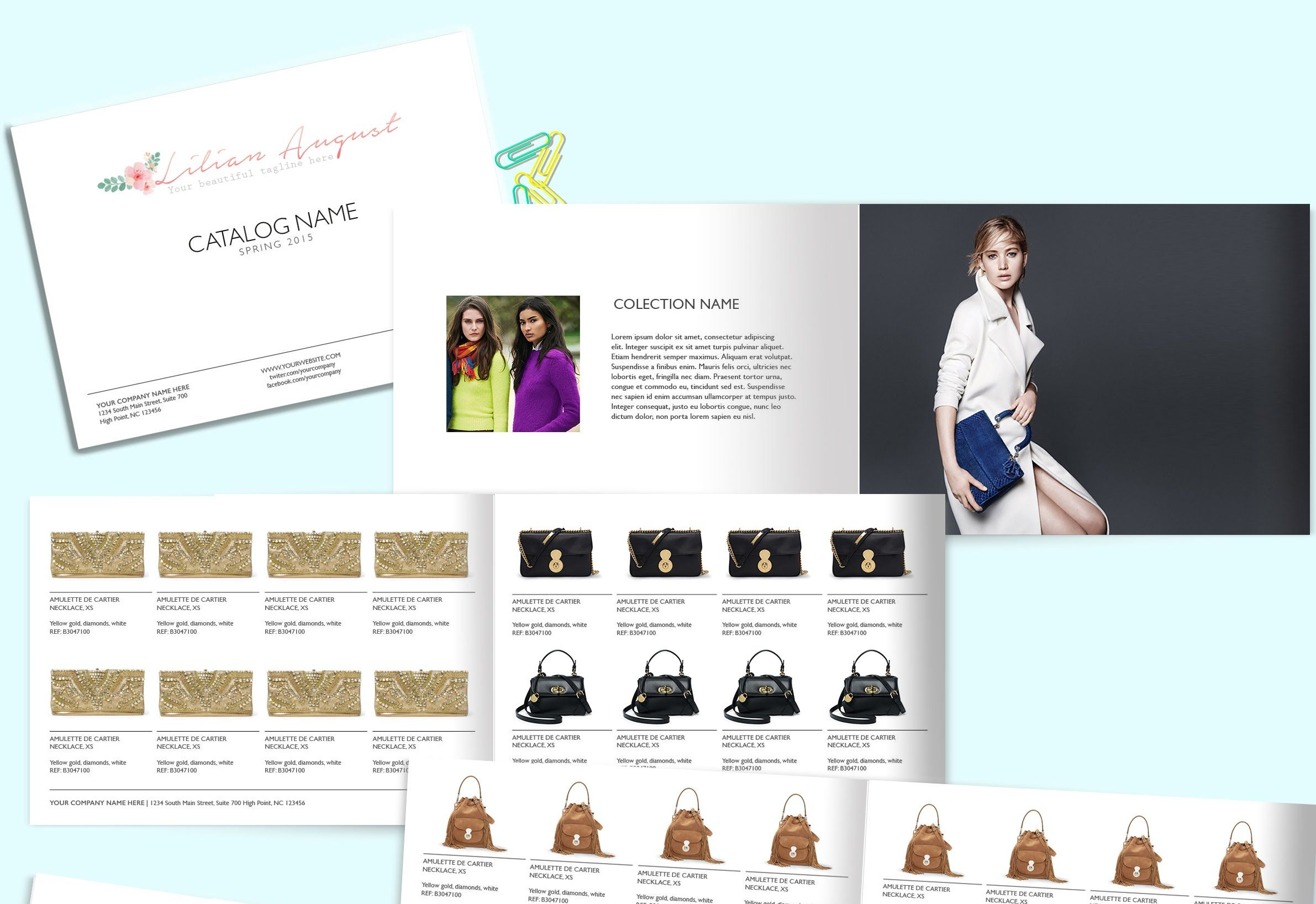 Catalog Design Tutorial Online Catalog Jewellery Catalog Fashion - Real estate wholesale website templates