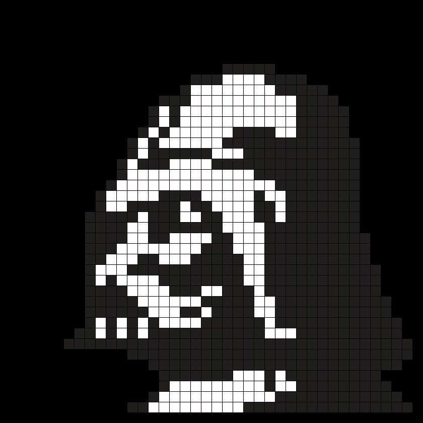Darth Vader Star Wars Perler Bead Pattern | Star Wars Programs Ideas ...