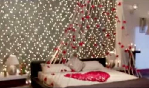 Suhagraat Bedroom Decoration Google Search Interior Bedroom