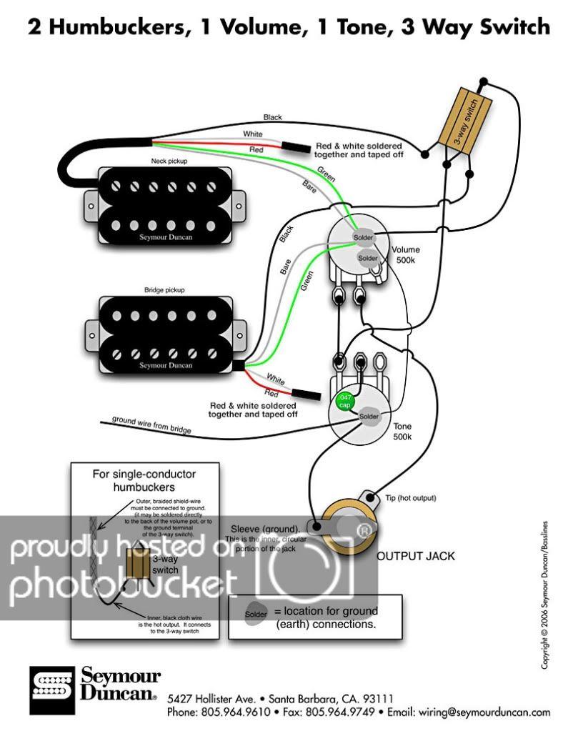 Ground Wiring Diagram Guitar Wiring Diagram Guitar Pickups Cigar Box Guitar Guitar Tech