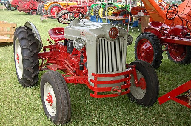 Restored Ford Naa Jubilee Tractor Tractors Ford Tractors Old