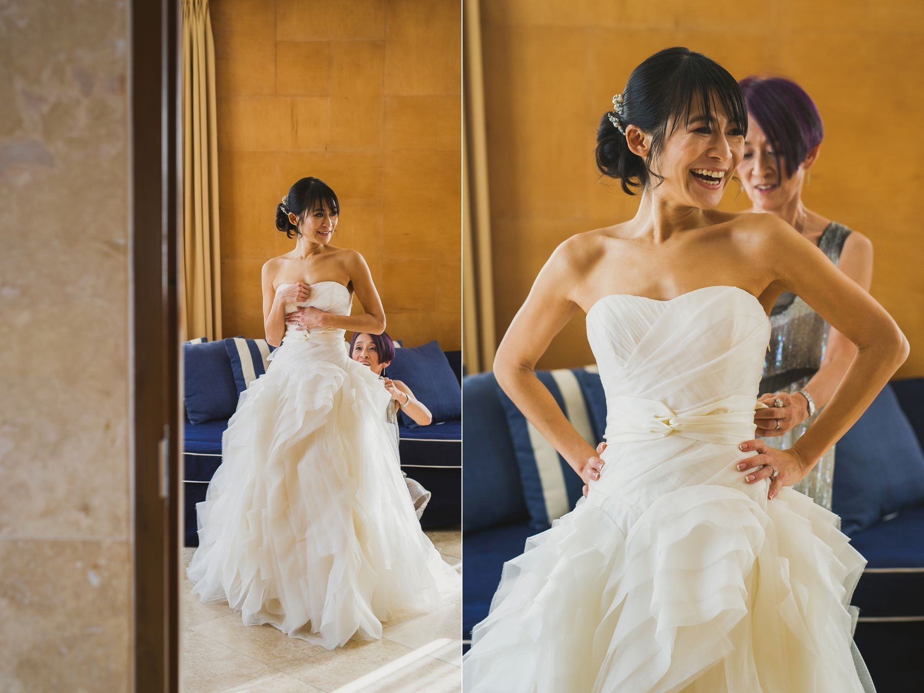 Vera Wang Diana Wedding Dress | Wedding at The Raleigh Hotel in ...