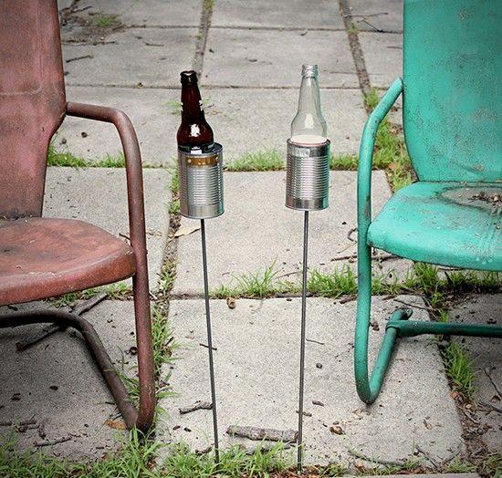 25 DIY Repurposed Can Ideas